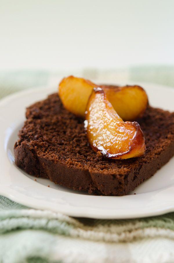Chocolate & Nashi Pear Cake