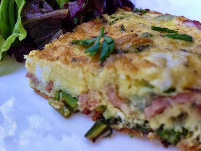 La Famiglia Di Bari: Post-Friday Frittata with Asparagus and Scallions