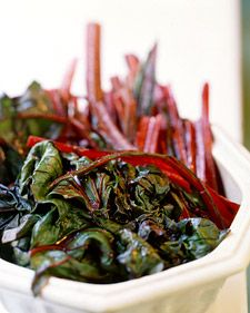 Sautéed Swiss Chard Ribs With Cream And Pasta Recipes — Dishmaps