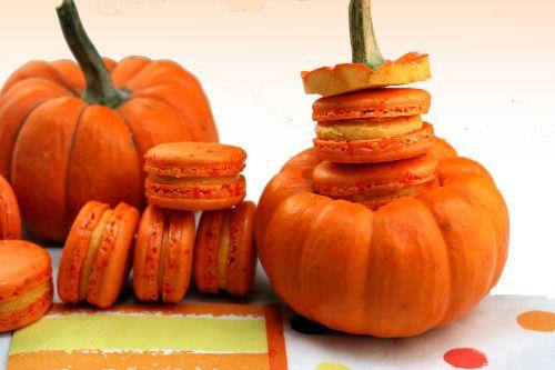pumpkin macaron | Oh la la Macarons | Pinterest
