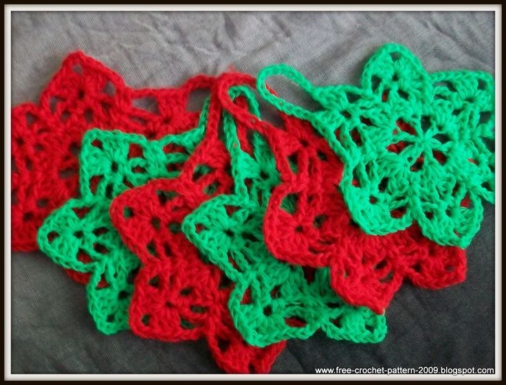 Free Crochet Pattern Christmas Star : Pin by Angela Barnes on Christmas Pinterest