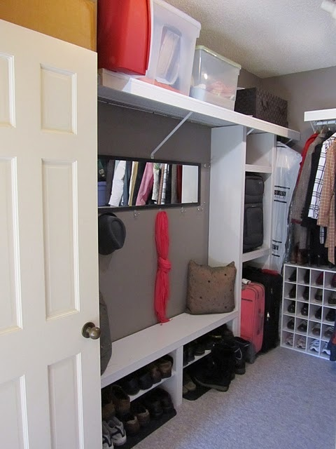 Foyer Closet Organization Ideas :