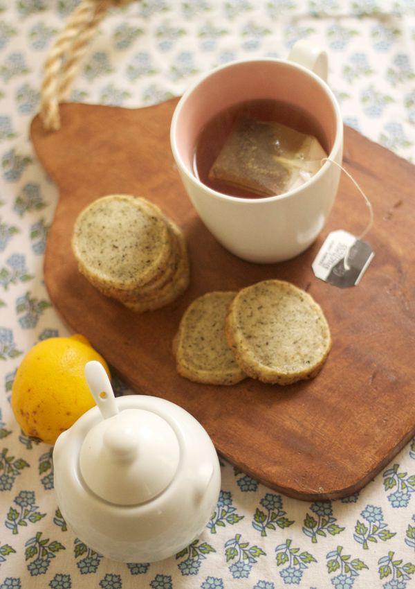 Cream of Earl Grey Tea Cookies | |mmm la la: cookies| | Pinterest