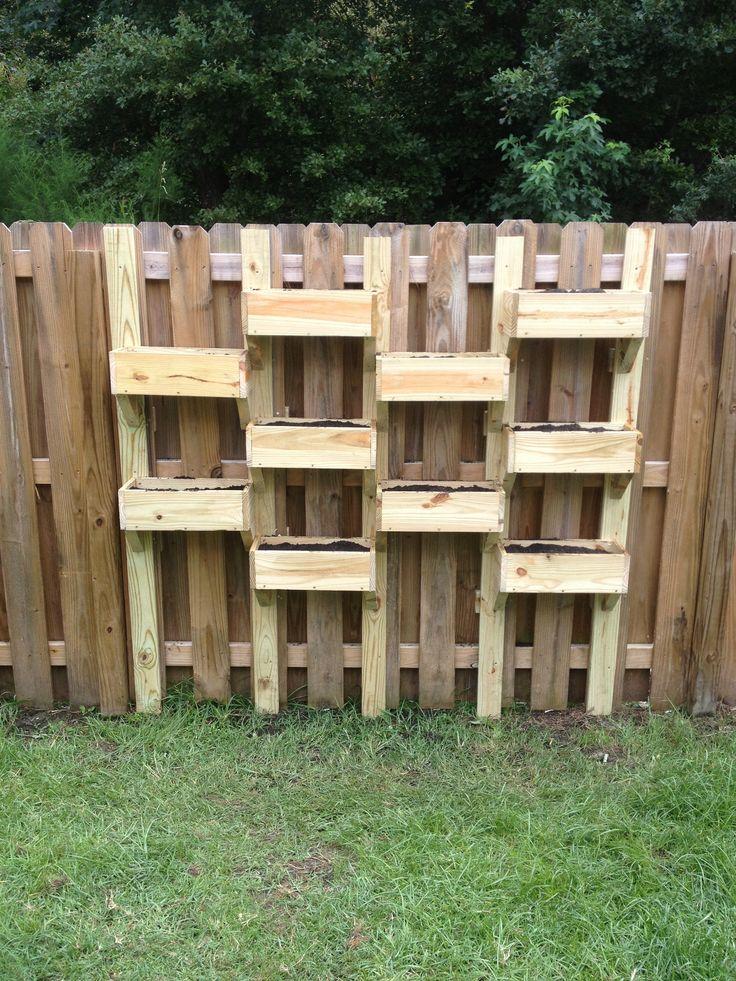 Fence planters garden pinterest - Flower planters for fences ...