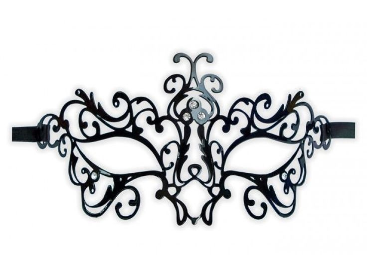 Printable Lace Masquerade Mask Template - WeSharePics