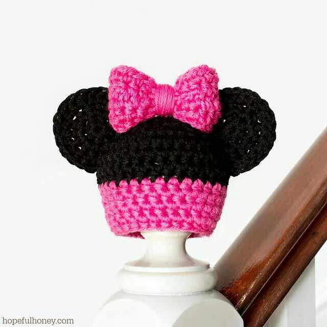 Minnie Mouse Free Pattern Hats Pinterest