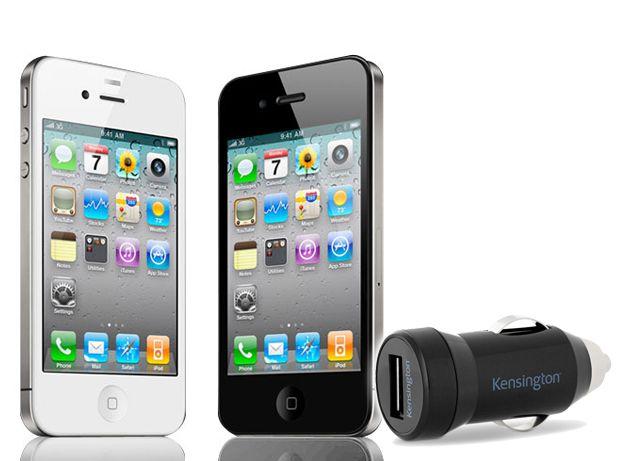 Bundle apple iphone4 8gb caricatore kensington powerbolt