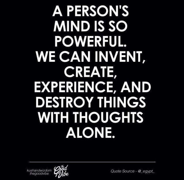 Powerful mind powerful body