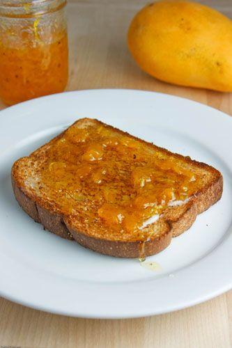 Mango and Cardamom Jam recipe.