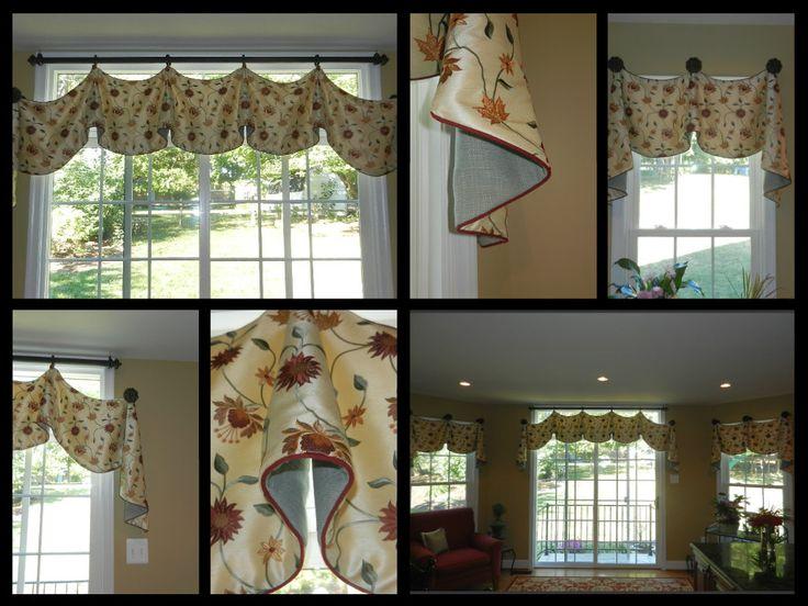Kitchen valances window treatments pinterest - Pinterest kitchen window treatments ...