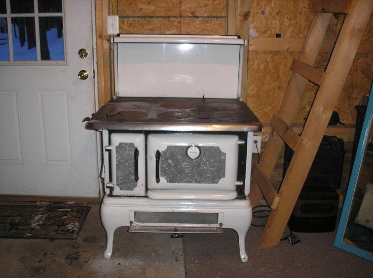 Wood burning cook stove antique - Antique wood burning stove ...