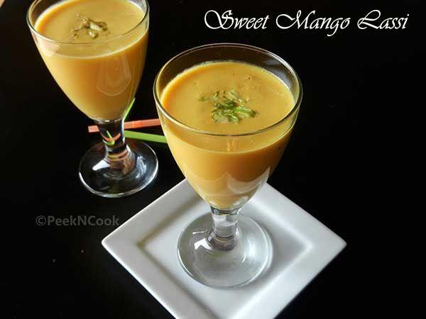 Mango Lassi recipe non alcoholic