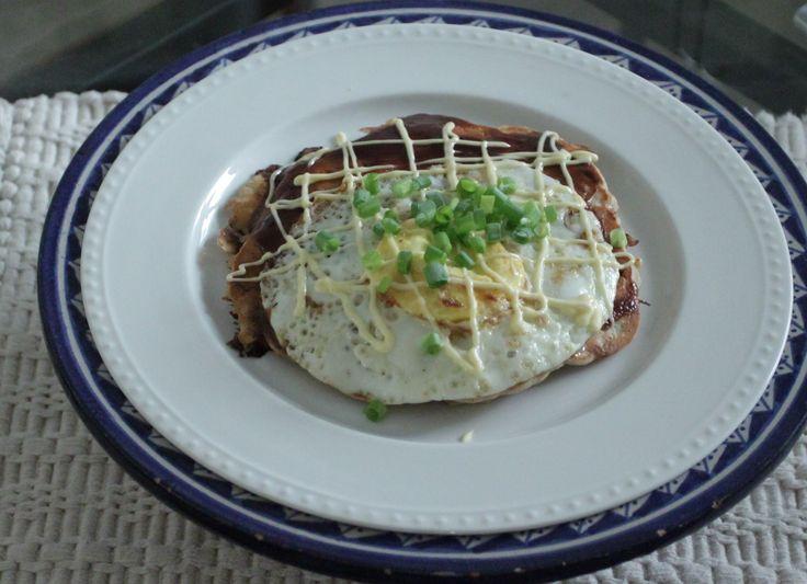Okonomiyaki - Japanese pizza or pancake? | Food | Pinterest