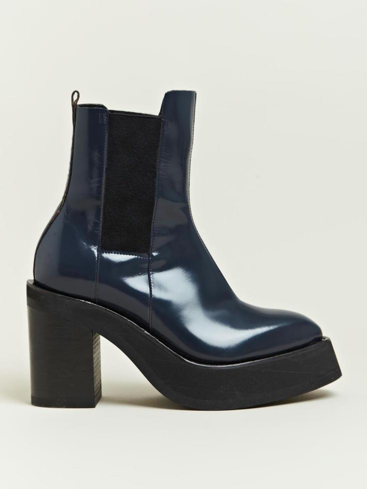 Yang Li Women's Platform Chelsea Boot