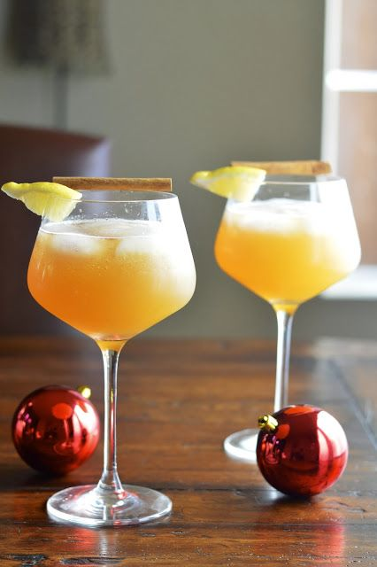 Virtually Homemade: Sparkling Apple Cinnamon Cocktail (made with Angry ...