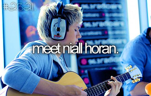 meet Niall Horan!!!
