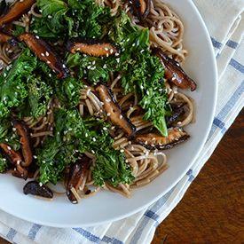 Black Garlic Soba Noodles | Yum | Pinterest