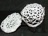 Crochet Geek : Ballet Lace Crochet Hair Accessory - Bun Cover. Like ...