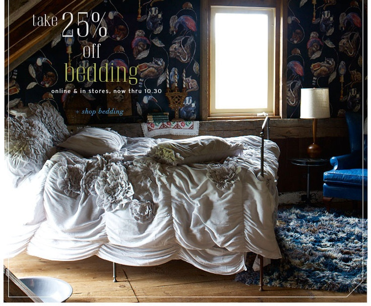 Anthropologie bedding - Anthropologie Bedroom Bohemian Bedrooms Pinterest