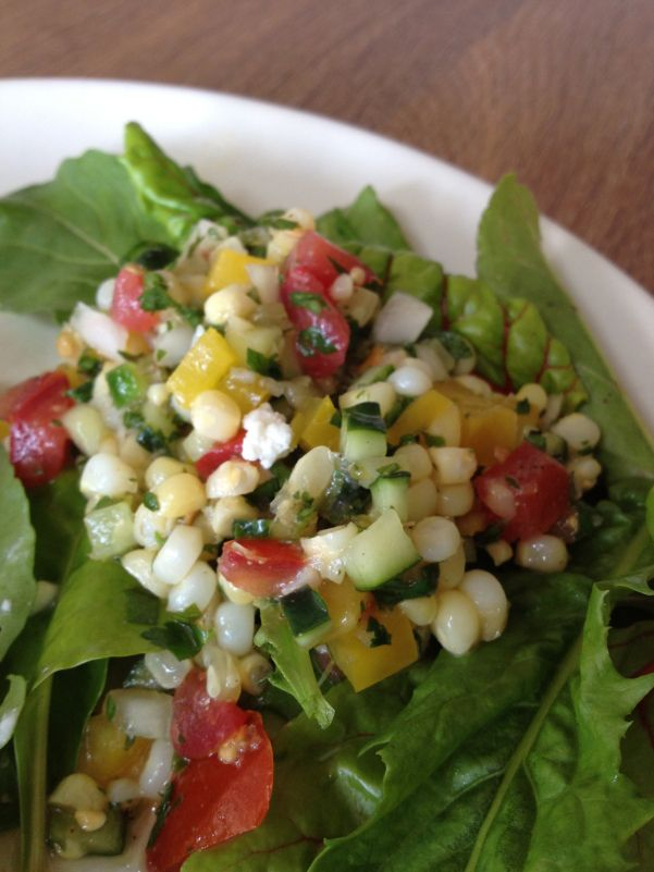 Warm Mexican Corn Salad Recipe — Dishmaps