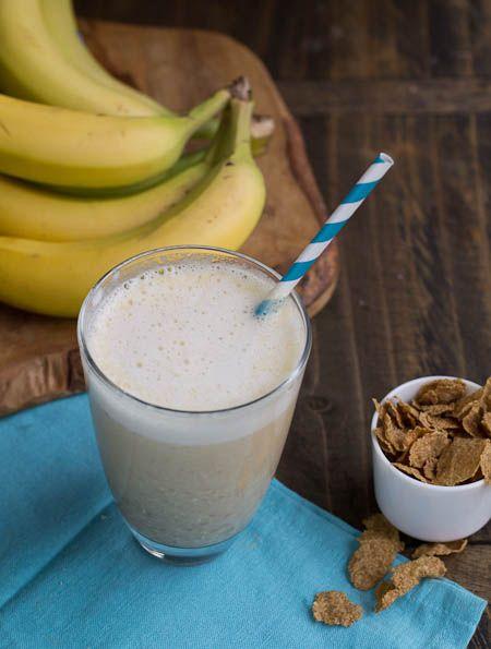 Banana Bread Protein Shake | Motivation | Pinterest