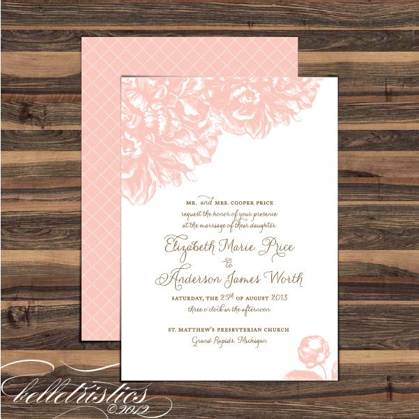 Wedding invitation projects to try pinterest for Pinterest invitation