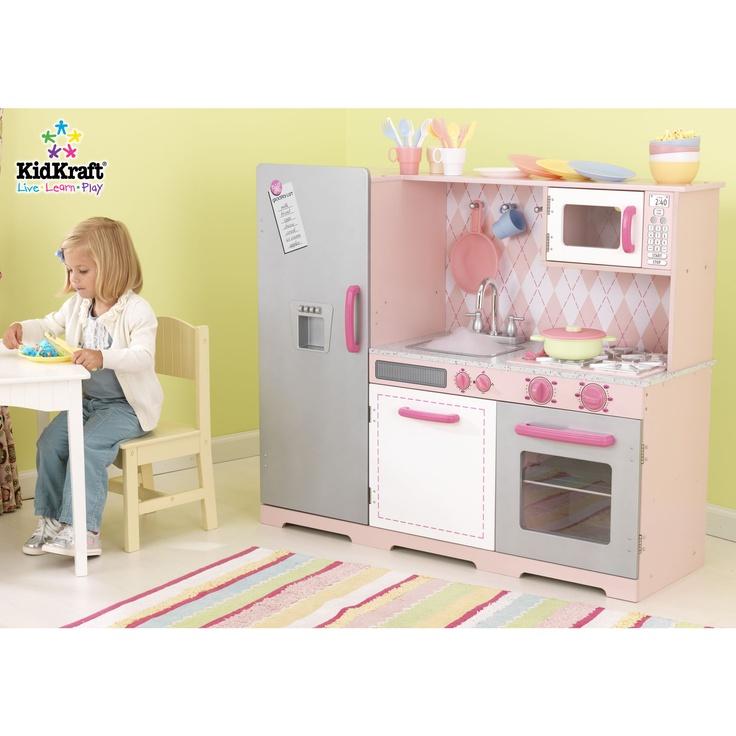 Girls play kitchen kids playroom pinterest for Girls play kitchen