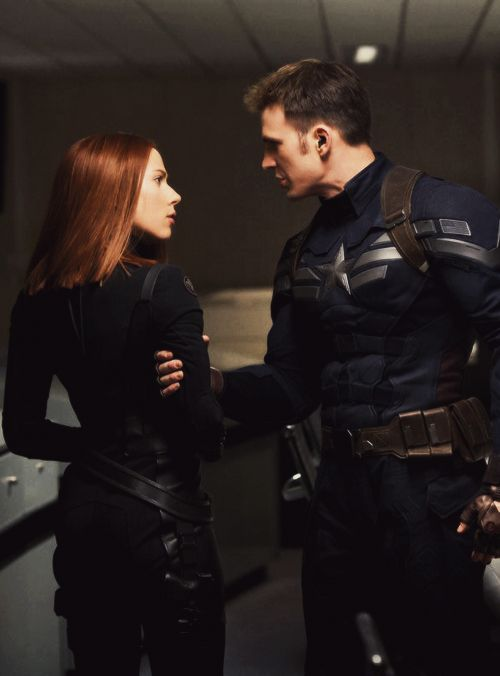 Steve looks more angry than Nat. She just looks shocked, a little. UGH INFORMATION, MARVEL, I NEED INFORMATION.