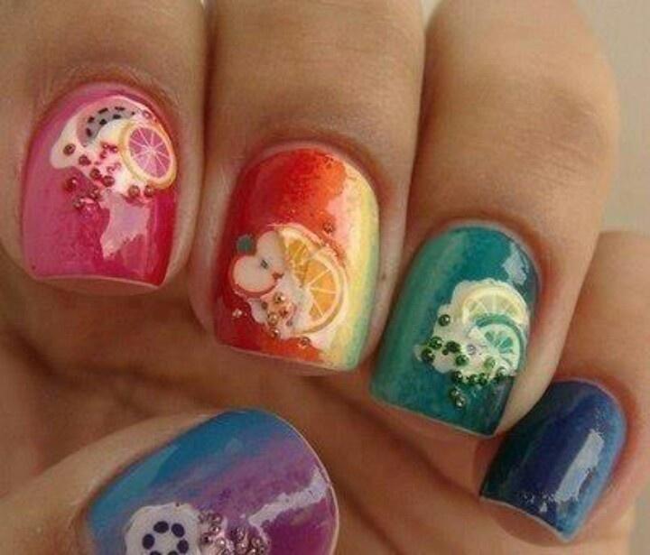 Nail art journal