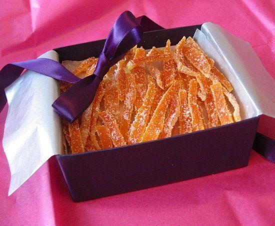 Candied Citrus Peel. | Sweet-tooth treats | Pinterest