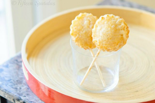 Apple Pie Pops with Cheddar Crust | Sweet Tooth | Pinterest