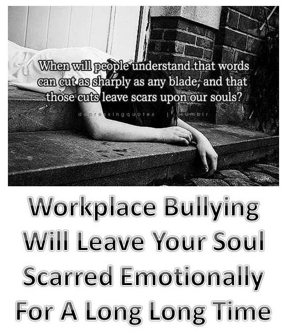 how to avoid bullying at work