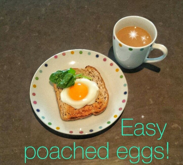 Easy poached eggs. | The journey to find the real me! | Pinterest