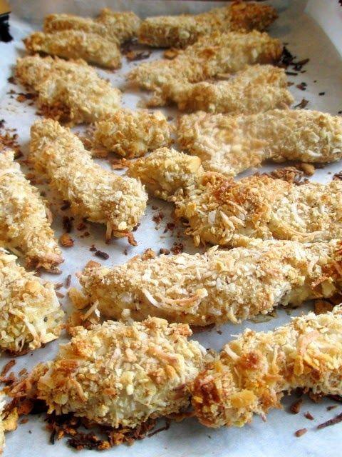 Coconut Breaded Chicken Strips