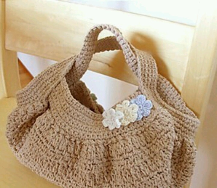 Japanese Crochet Bag : Crochet bag japanese Crochet/knit bag Pinterest