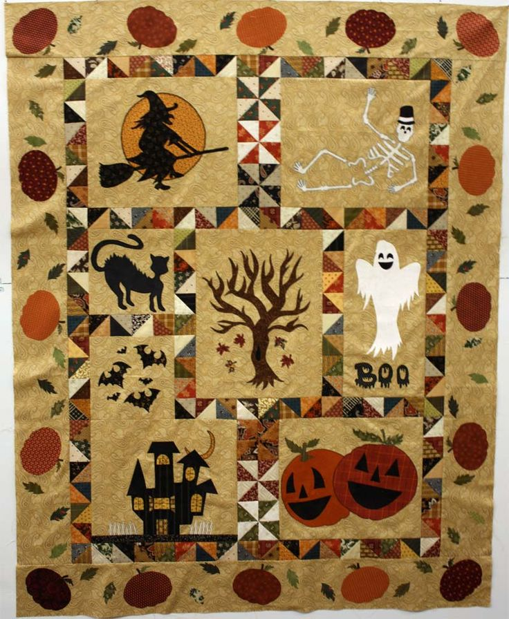 Halloween quilts patterns