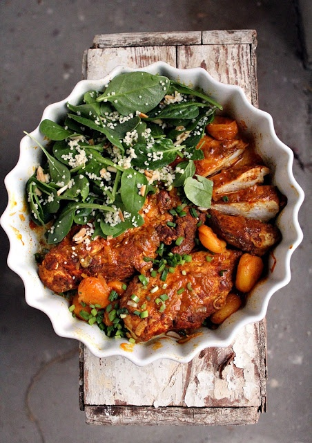 Chicken Tagine with Apricots | Around the World in an RV...www.bakedl ...