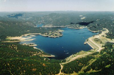 Pin by behind the times furniture l l c on places to see for Pactola lake cabins