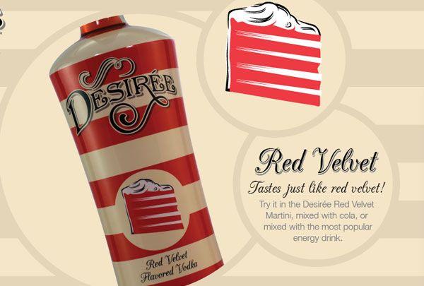 Red Velvet Vodka ~ say what