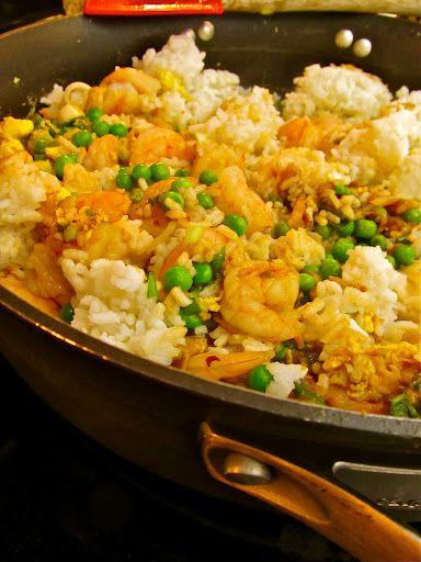 Pineapple Shrimp Fried Rice Recipe — Dishmaps