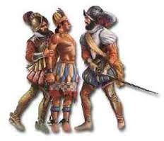 25 – (1533) Ahí se les hizo un proceso similar al que condenó a Atahualpa y se les sentenció a muerte, pero luego, con una increíble magnanimidad se perdonó a todos menos a Sancho de Cuéllar, que fue el escribano del juicio contra el Inca, se le ejecuta en la plaza de Cajamarca, en el mismo lugar que al Inca.