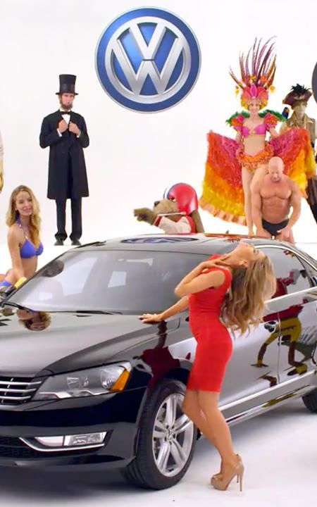 ... Its Super Bowl Spot With Every Online Gag In The Book--Literally