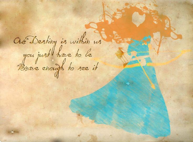 Disney Princess Friendship Quotes Disney Quotes Brave. Q...