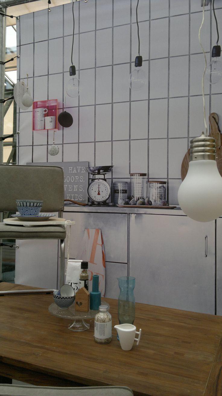 Retro Keuken: About jaren keukens on shelves stove and vintage.