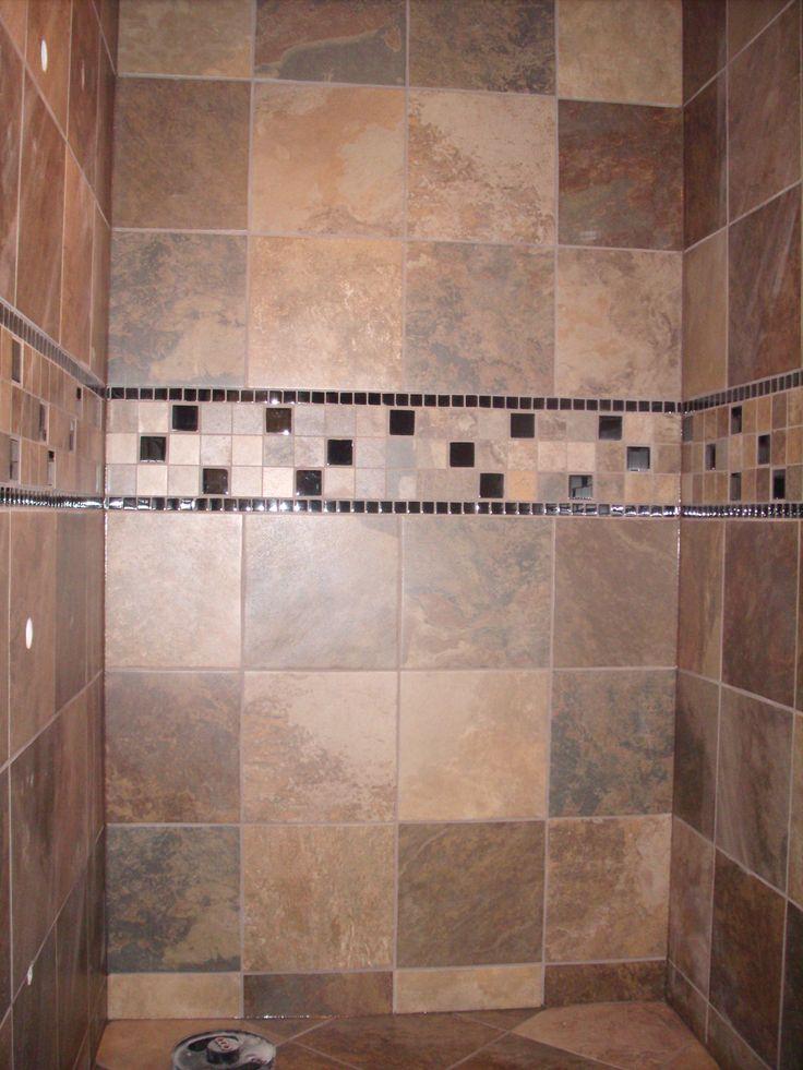 12x12 Tile In Shower Google Search Master Bathroom Ideas Pinter