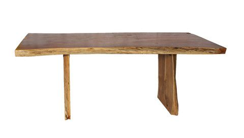 Modern And Organic The Greyson Dining Table Has Beautiful Live Edges
