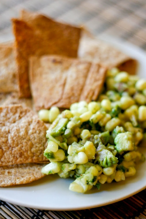 Fresh Corn And Avocado Salsa Recipe — Dishmaps
