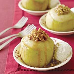 Baked Apples à la Mode | MyRecipes.com