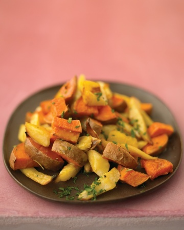 Maple-Glazed Parsnips and Sweet Potatoes | Fruits & Veggies | Pintere ...