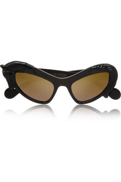 Shop now: Black Horse cat eye sunglasses